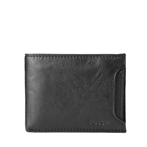 Fossil Ingram Sliding 2 In 1 Wallet Ml3288200 Color: Brown Wallet