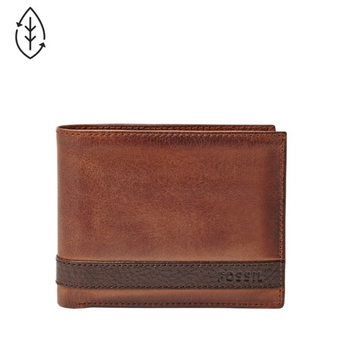 Fossil Quinn Passcase  Accessory Brown