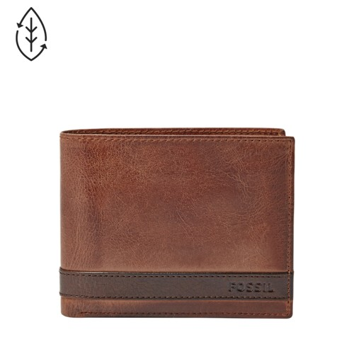 Fossil Quinn Large Coin Pocket Bifold Ml3653200 Wallet