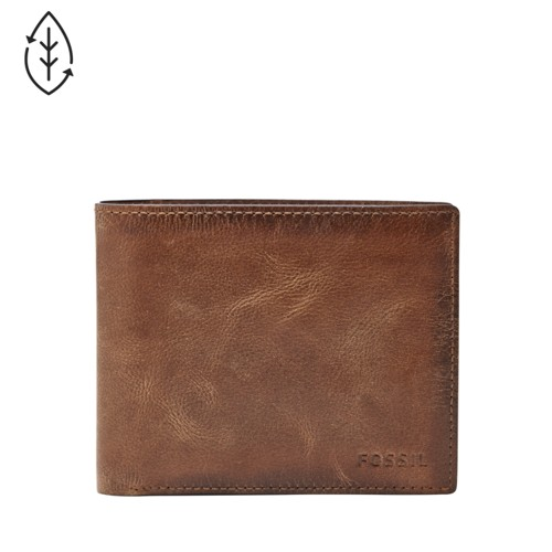 Derrick RFID Large Coin Pocket Bifold ML3687200