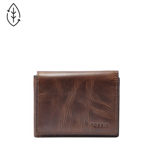 Fossil Derrick Execufold  Accessory Dark Brown