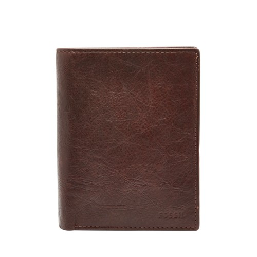 Fossil Ingram Rfid International Combination Ml3780200 Color: Brown Wallet