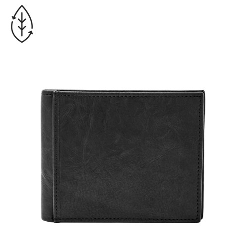 Fossil Ingram Rfid Large Coin Pocket Bifold Ml3781001 Wallet