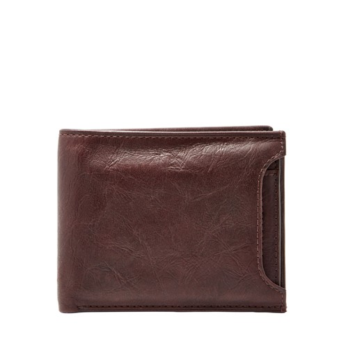Fossil Ingram Rfid Sliding 2 In 1 Ml3783200 Color: Brown Wallet