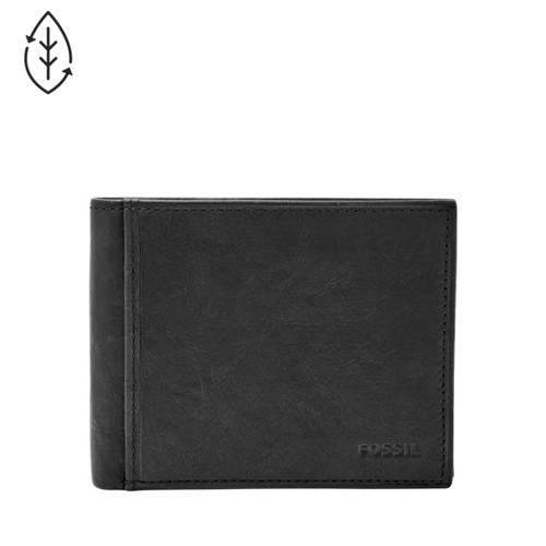 Fossil Ingram Rfid Bifold With Flip Id Ml3784001 Wallet