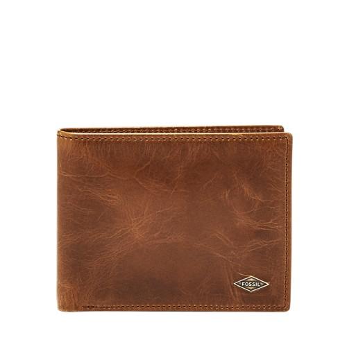 Fossil Ryan Rfid L-Zip Bifold Ml3830001 Wallet