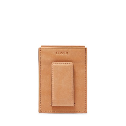Fossil Ford Rfid Card Case Ml3855b216 Color: Saddle Wallet
