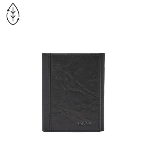 Fossil Neel Trifold Ml3869001 Color: Black Wallet