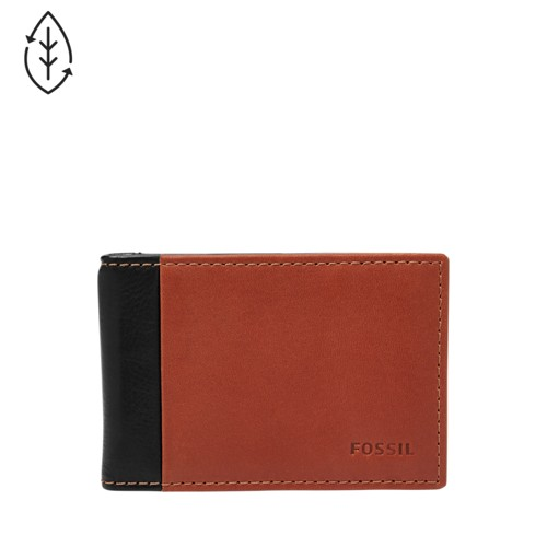 Fossil Ward RFID Money Clip Bifold ML3920001