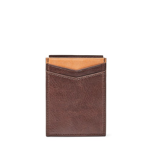 Fossil Ethan Rfid Magnetic Card Case Ml3933b200 Wallet
