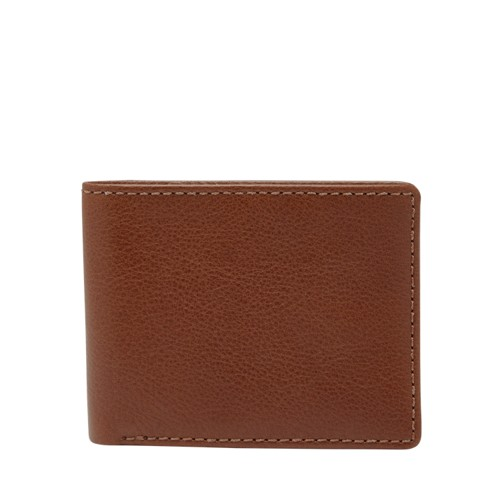 Fossil Gavin Rfid Bifold Ml3971b200 Color: Brown Wallet