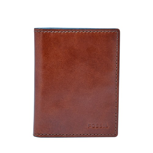Fossil Hugh Card Case Bifold Ml3988222 Wallet