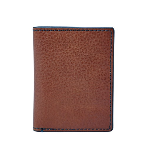 Fossil Richard Card Case Bifold Ml3992200 Color: Brown Wallet