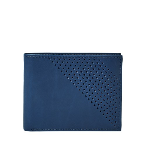 Fossil Dom Rfid Flip Id Bifold Ml3996200 Color: Brown Wallet