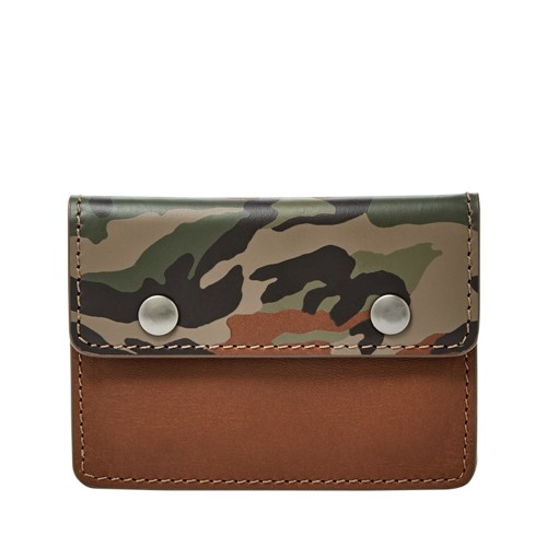 Fossil Mason Card Case Ml4002998 Color: Multi Wallet