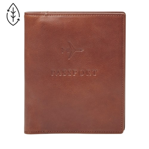 Fossil Leather RFID Passport Case MLG0358222