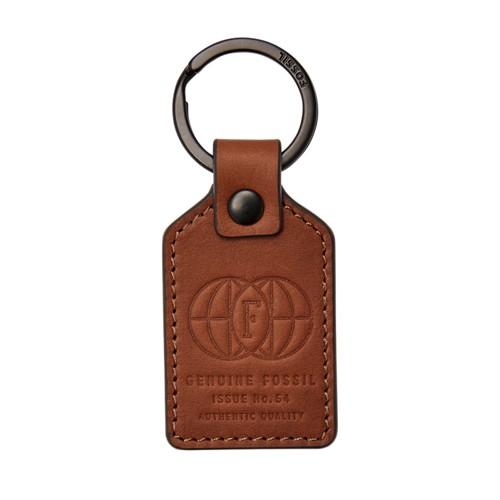 Fossil Genuine Fossil Keyfob  Accessories Cognac