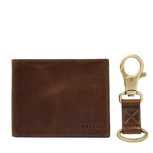 Derrick RFID Flip ID Bifold and Keyfob Set MLG0651201