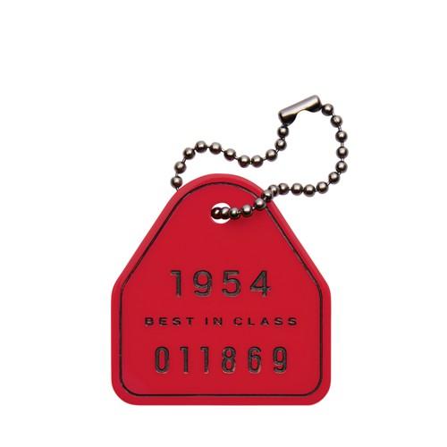 Fossil Key Tag Keyfob  Accessories Red