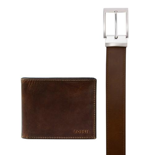 Derrick Bifold w/ Flip ID and Belt Gift Set MLG0658201