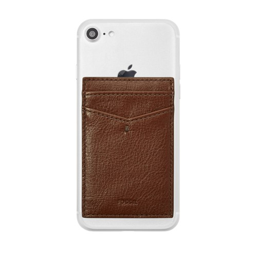 Fossil Card Case  Accessories Cognac