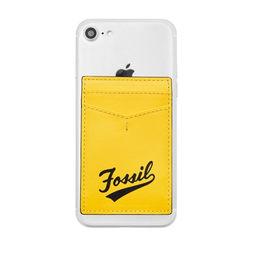 Fossil Card Case  Accessories Bright Yellow