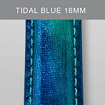 16mm Tidal Blue Fashion Patent Leather