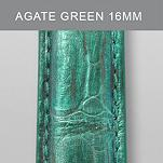 16mm Agate Green Fashion Alligator