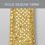 16mm Gold Sequin