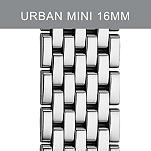 16mm Urban Mini Stainless Steel Bracelet with Diamonds