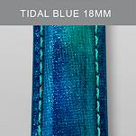 18mm Tidal Blue Fashion Patent Leather