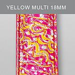 18mm Yellow Multi Fashion Patent