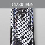 18mm Snake Fashion Leather