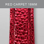 18mm Red Carpet Fashion Leather