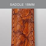 18mm Saddle Exotic Leather