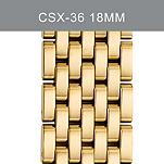 18mm CSX-36 Gold-Plated Bracelet