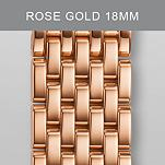 18mm Deco Rose Gold Bracelet