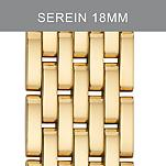 18mm Serein 7 Link Gold Bracelet