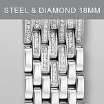 18mm Serein Taper Diamond Bracelet
