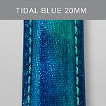 20mm Tidal Blue Fashion Patent Leather