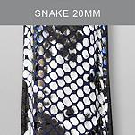 20mm Snake Fashion Leather