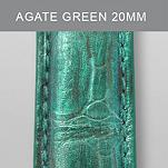 20mm Agate Green Fashion Alligator
