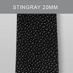20 mm Black Stingray