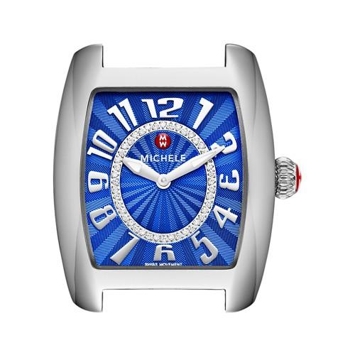Michele Urban Mini, Cobalt Diamond Dial Mw02a00a0101 Blue