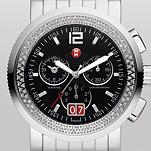 Sport Sail Large Diamond, Black Dial