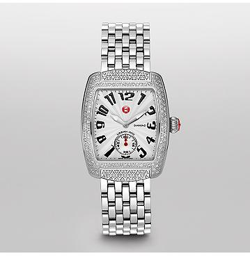 Michele Butterfly Watch on Michele   Watches Urban  Urban Mini Diamond  Diamond Bracelet
