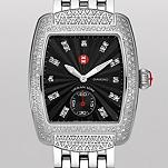 Urban Mini Diamond, Black Diamond Dial Diamond Bracelet