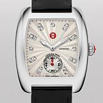 Urban Mini White Diamond Dial Black Patent