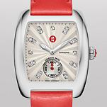 Urban Mini, Diamond Dial Bright Orange Patent