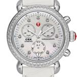 Signature CSX-36 Diamond, Diamond Dial White Alligator